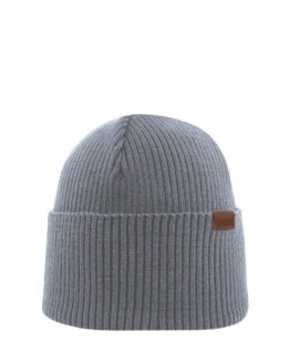 Superyellow ANDÖ merino wool beanie grey