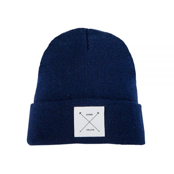 ARTHUR beanie wool dark blue