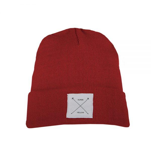 ARTHUR beanie wool red