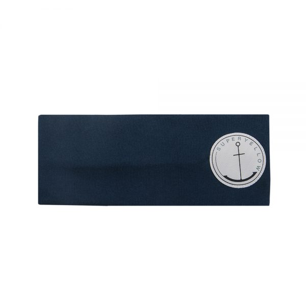 AVA cotton headband dark blue