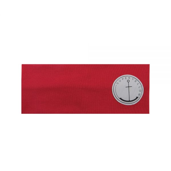 AVA cotton headband red
