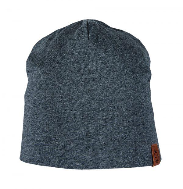 BASIC beanie cotton charcoal