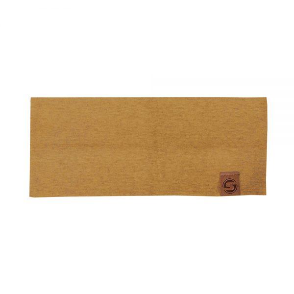 BASIC headband cotton mustard yellow