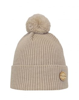 Havet vanilla merino wool beanie superyellow