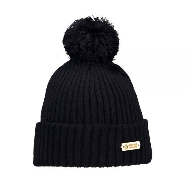 KIDE beanie wool black