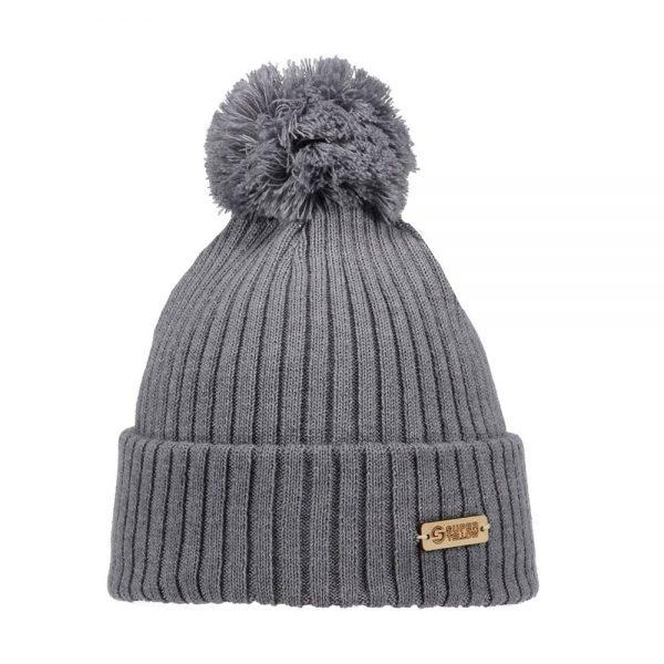 KIDE beanie wool grey