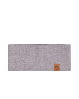 SAAME Merino wool headband light grey