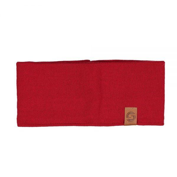 SAAME headband wool red