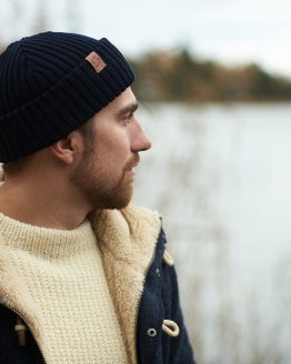 SAILOR Merino wool beanie dark blue image