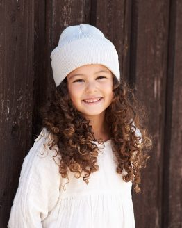 COAST Junior organic cotton beanie