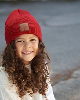 SUPERYELLOW Marinero Junior kids beanie red