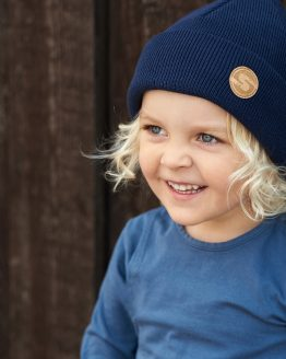 SUPERYELLOW Sonne kids cotton beanie