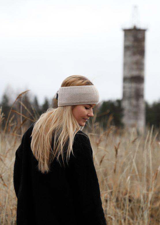 Superyellow TUULI headband vanilla