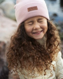 Superyellow kids beanie MIDI