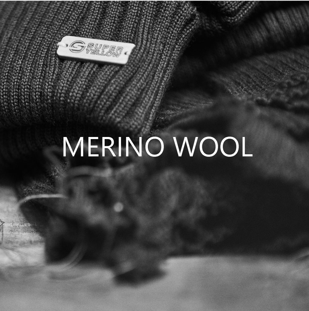 Superyellow merino wool beanies