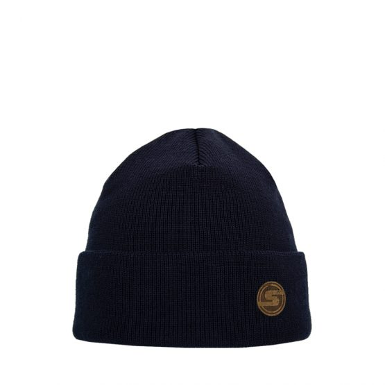 SONNE Junior cotton beanie navy