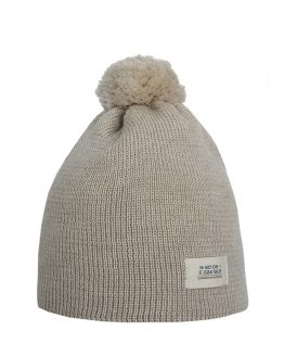 HELSINKI Junior merino wool beanie with organic cotton lining
