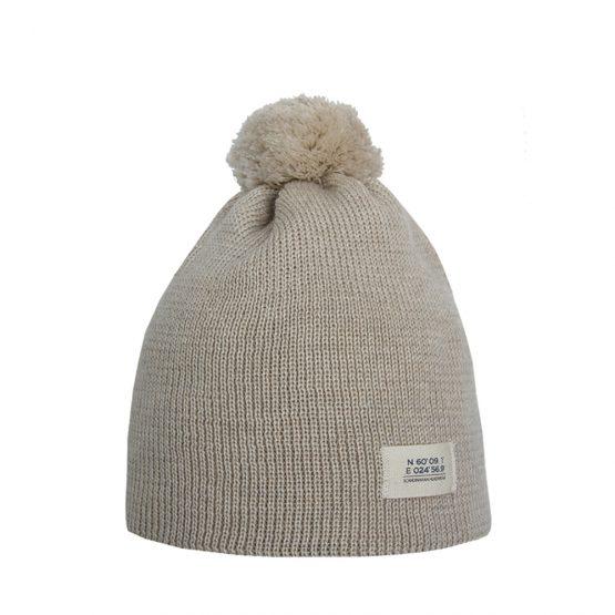 HELSINKI Junior merino wool beanie with organic cotton lining
