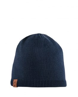 Superyellow Kids cotton beanie Biscay dark blue