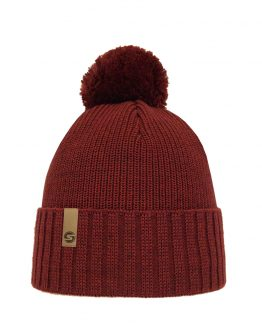 Superyellow Fenno beanie rusty red