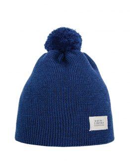 HELSINKI Merino wool beanie denim blue